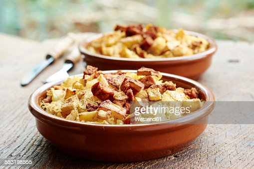 ... , mashed potato casserole with crispy celery root and spicy tofu