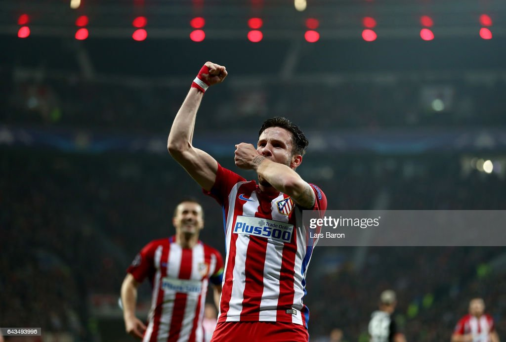 Bayer Leverkusen v Club Atletico de Madrid - UEFA Champions League Round of 16: First Leg