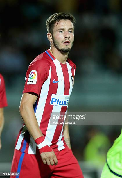 Saul Niguez of Atletico de Madrid during presseason friendly match between FC Crotone and Club Atletico de Madrid at Stadio Comunale Gigi Marulla on...