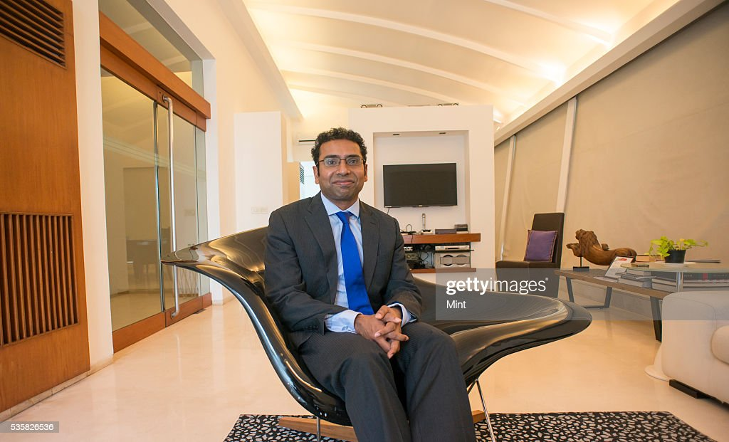 Saurabh Mukherjea- CEO of Ambit Capital poses during an exclusive interview on December 4, 2015 in Mumbai, India.