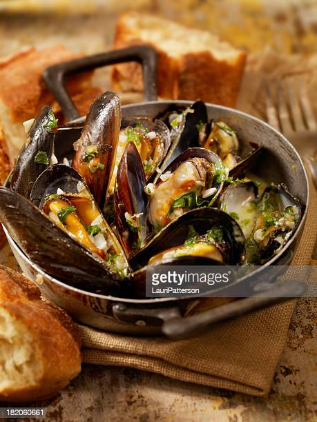 Sautéed Mussels