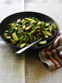 Sauteed Brussel Sprouts w/Pecans