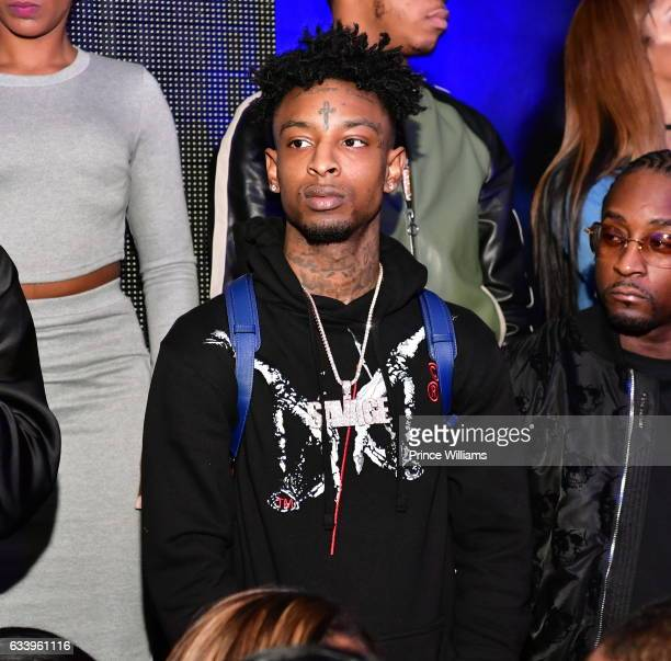 Savage attends a Day Party at Mercy Night Club on February 4 2017 in Houston Texas