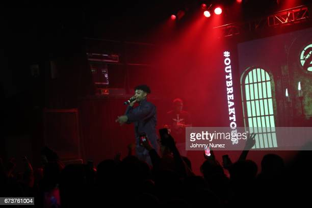 Savage performs at Irving Plaza on April 26 2017 in New York City
