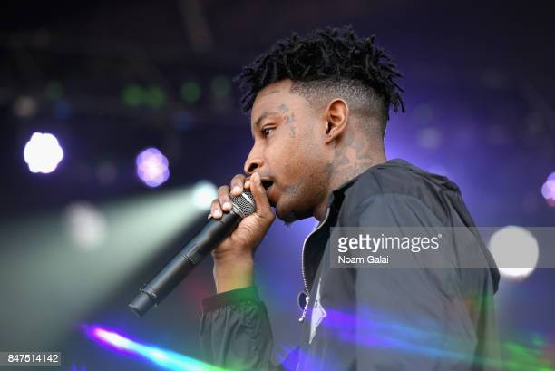 Savage performs onstage during the Meadows Music And Arts Festival Day 1 at Citi Field on September 15 2017 in New York City