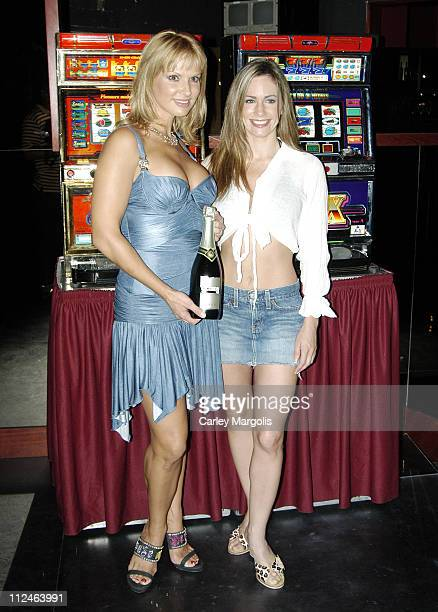 Savanna Samson and Shannon Leahy during The World Famous Scores Announces the Opening of a New Scores Gentlemen's Club in Las Vegas Hosted by Savanna...