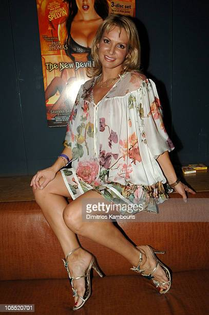 Savanna Samson during 'The New Devil in Miss Jones' New York City Premiere After Party at Crobar in New York City New York United States