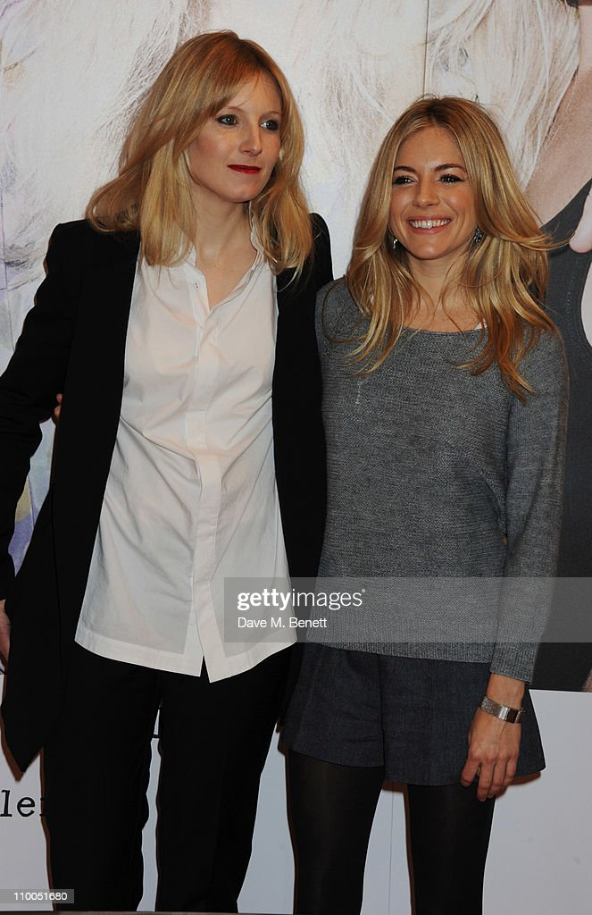 Savannah and Sienna Miller attend photocall at launch of new Twenty8Twelve collection at Selfridges on March 14, 2011 in London, England.