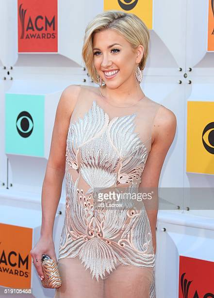 Savannah Chrisley attends the 51st Academy of Country Music Awards at MGM Grand Garden Arena on April 3 2016 in Las Vegas Nevada