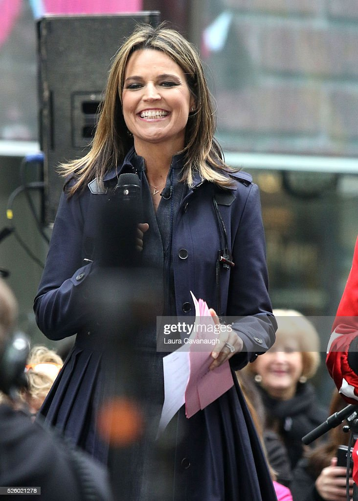 <a gi-track='captionPersonalityLinkClicked' href=/galleries/search?phrase=Savannah+Guthrie&family=editorial&specificpeople=653313 ng-click='$event.stopPropagation()'>Savannah Guthrie</a> at NBC's 'Today' at Rockefeller Plaza on April 29, 2016 in New York City.