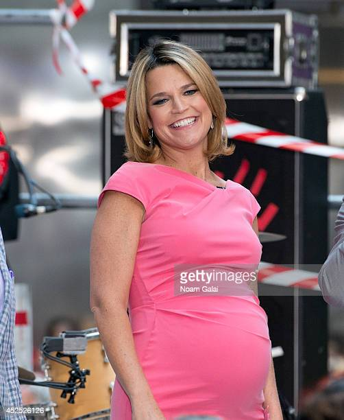 Savannah Guthrie attends NBC's 'Today' at Rockefeller Plaza on July 22 2014 in New York New York