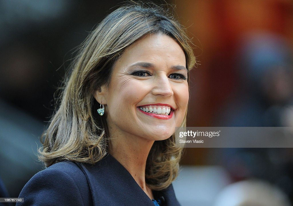 Savannah Guthrie attends NBC's 'Today' at Rockefeller Plaza on November 20, 2012 in New York City.