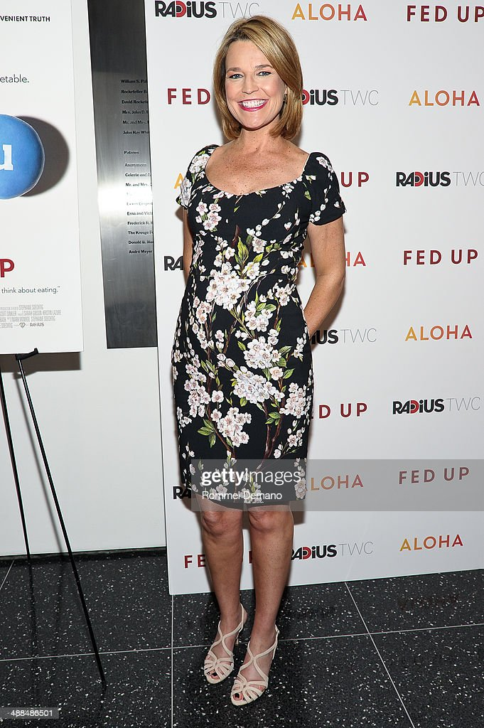<a gi-track='captionPersonalityLinkClicked' href=/galleries/search?phrase=Savannah+Guthrie&family=editorial&specificpeople=653313 ng-click='$event.stopPropagation()'>Savannah Guthrie</a> attends the 'Fed Up' premiere at Museum of Modern Art on May 6, 2014 in New York City.