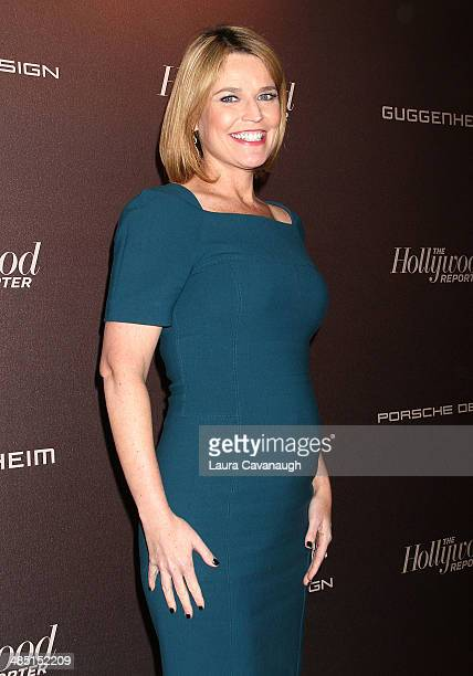 Savannah Guthrie attends The Hollywood Reporter 35 Most Powerful People In Media Celebration at The Four Seasons Restaurant on April 16 2014 in New...