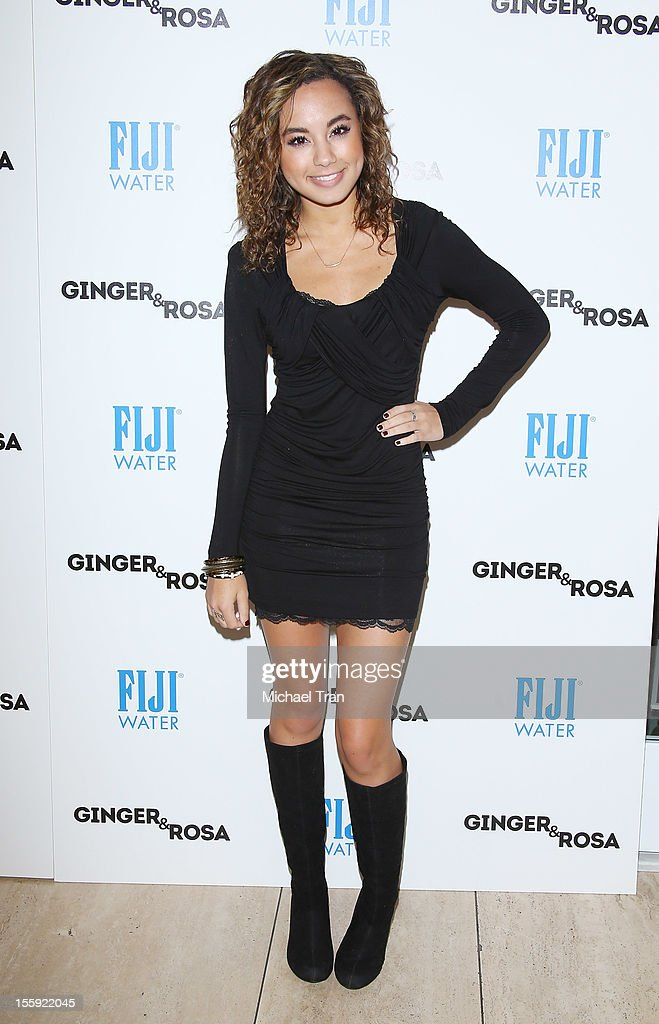 Savannah Jayde arrives at the Los Angeles special screening of 'Ginger & Rosa' held at The Paley Center for Media on November 8, 2012 in Beverly Hills, California.