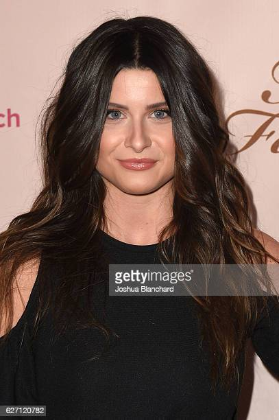 Savannah Outen arrives at Too Faced's Sweet Peach Launch Party at The Lot on December 1 2016 in West Hollywood California