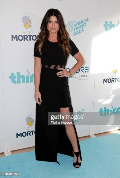 Savannah Outen attends the 8th annual Thirst Gala at The Beverly Hilton Hotel on April 18 2017 in Beverly Hills California