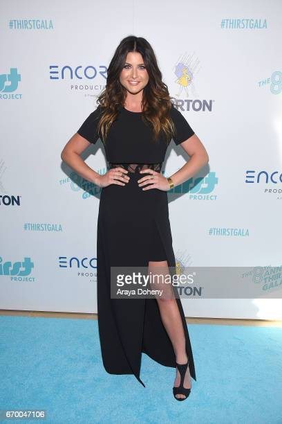 Savannah Outen attends the Thirst Project's 8th Annual Thirst gala at The Beverly Hilton Hotel on April 18 2017 in Beverly Hills California