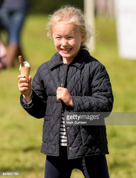 Savannah Phillips at the Whatley Manor Horse Trials at Gatcombe Park on September 9 2017 in Stroud England