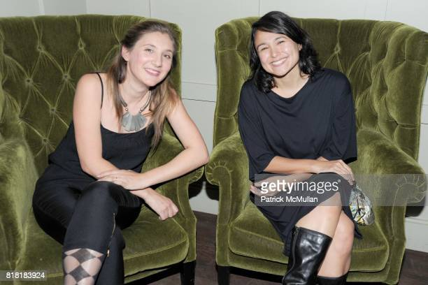 Savannah Roberts and Brandi Norton attend 'Forgotten Fashion' book party honoring the release of Let's Bring Back by Lesley MM Blume at Library on...