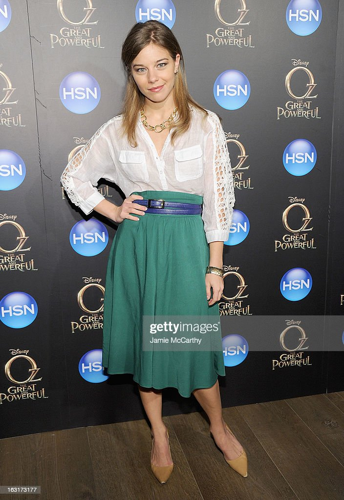 Savannah Wise attends the 'Oz The Great And Powerful' VIP screening at the Crosby Street Hotel on March 5, 2013 in New York City.
