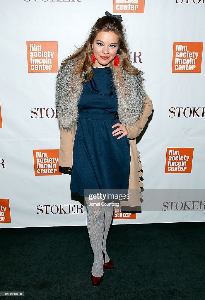 Savannah Wise attends the 'Stoker' New York Screening at The Film Society of Lincoln Center, Walter Reade Theatre on February 27, 2013 in New York City.