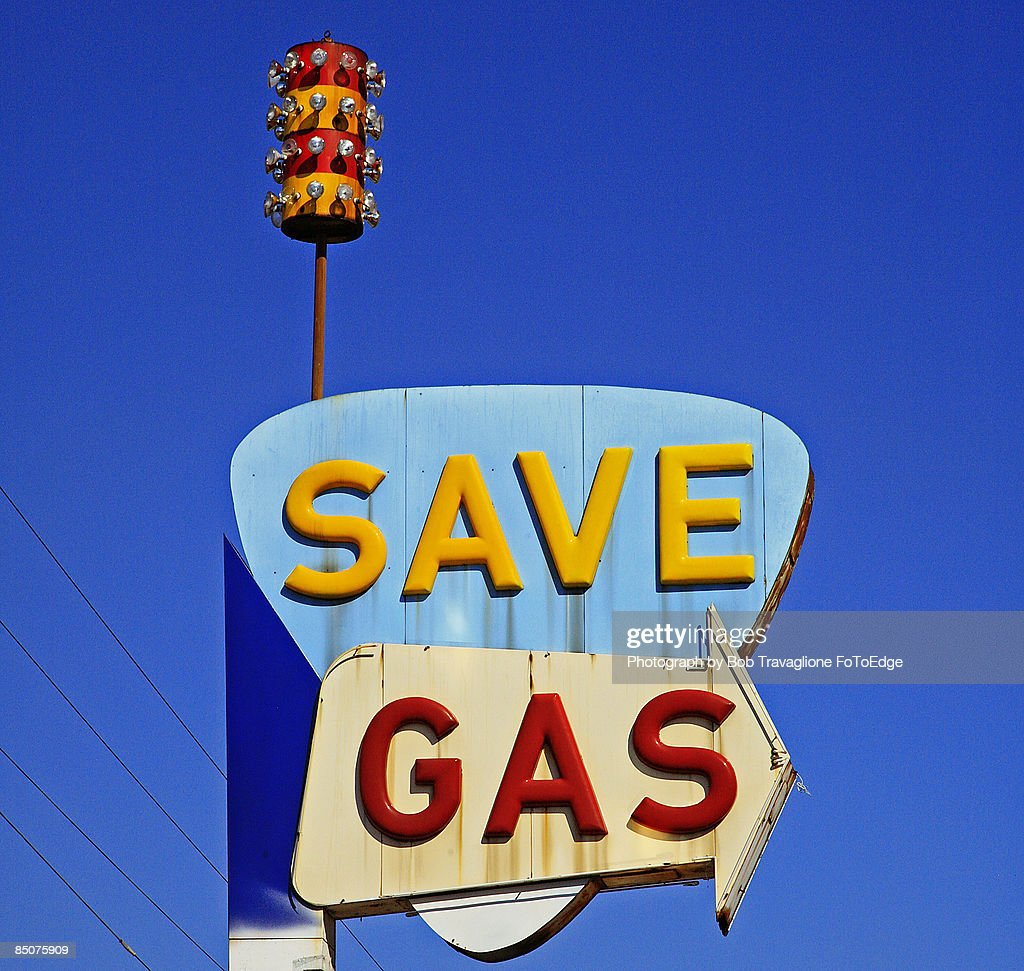 Save Gas : Stock Photo
