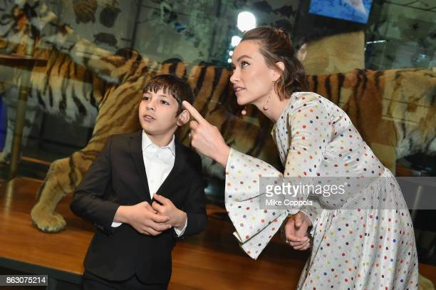 Save the Children ambassador Olivia Wilde and Syrian refugee and Save The Children beneficiary Mahmoud Aloqla attend the 5th Annual Save the Children...