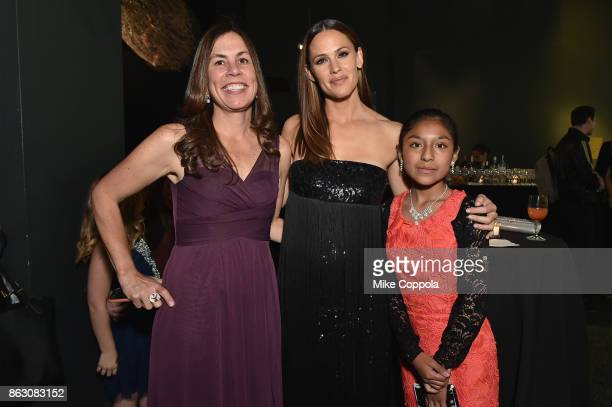 Save the Children Bolivia Country Director Daphne Sorensen Actress and Save the Children Trustee Jennifer Garner and Save the Children beneficiary...