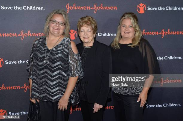 Save the Children Hurricane Harvey beneficiary Joann Davis attends the 5th Annual Save the Children Illumination Gala at the American Museum of...