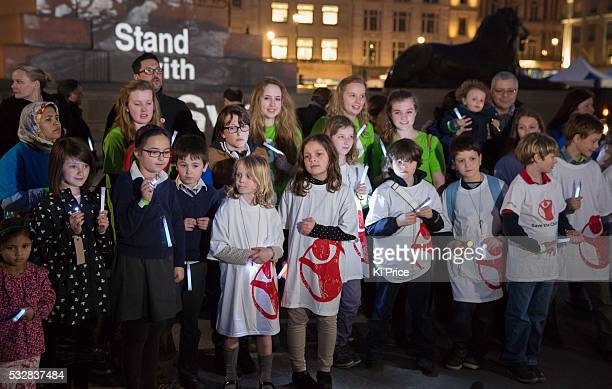 Save The Children mark s the 3rd anniversary of the Syrian crisis Save the Children Ambassador Dom Joly takes part in the #WithSyria campaign in...