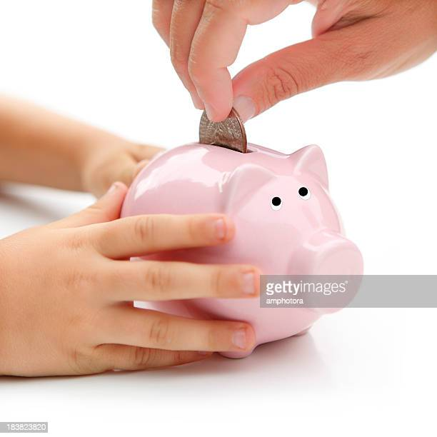 Saving for child's future