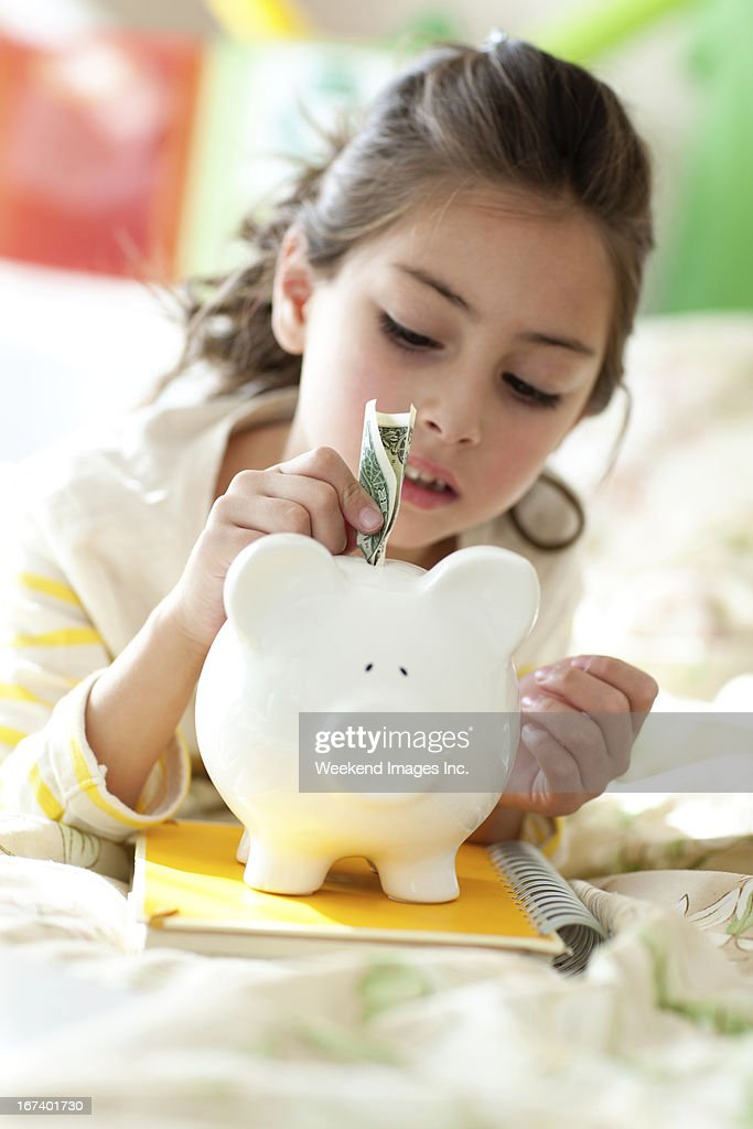 Saving money : Stock Photo