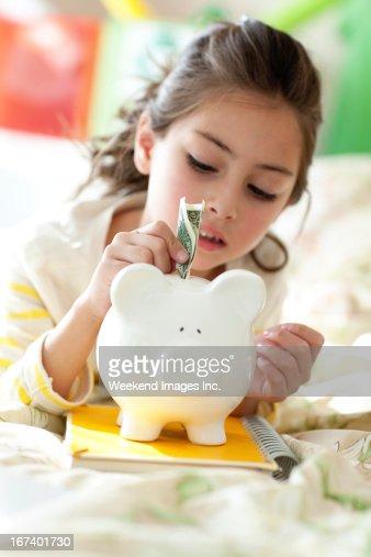 Geld sparen : Stock-Foto