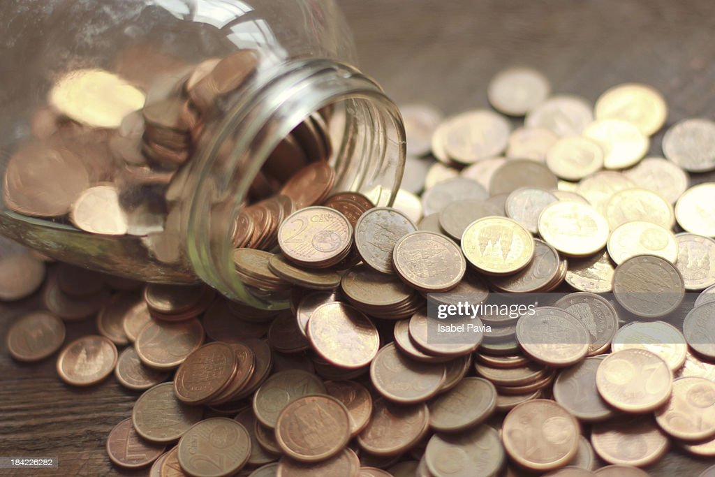 Saving money : Stock Photo