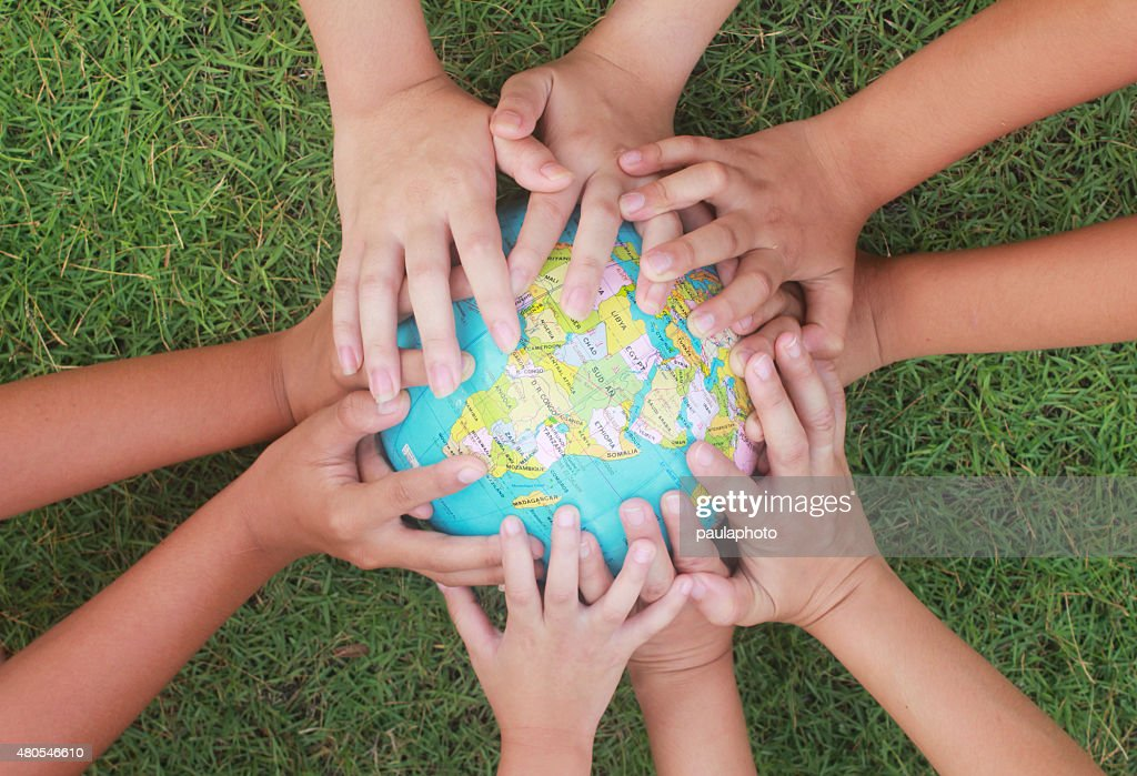Saving the world : Stock Photo