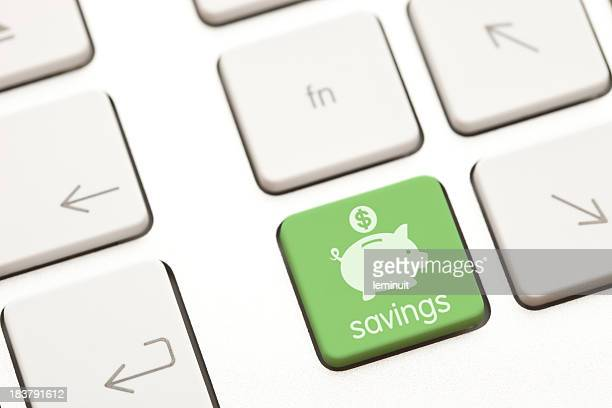 Savings computer key