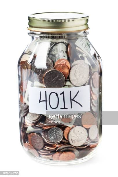 401K Savings in a Jar