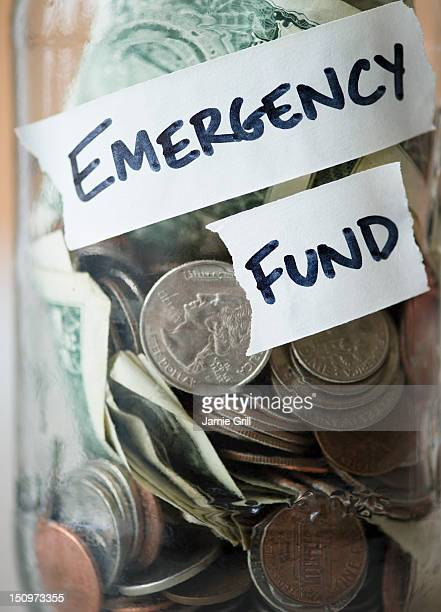 Savings in jar