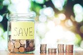 Savings money