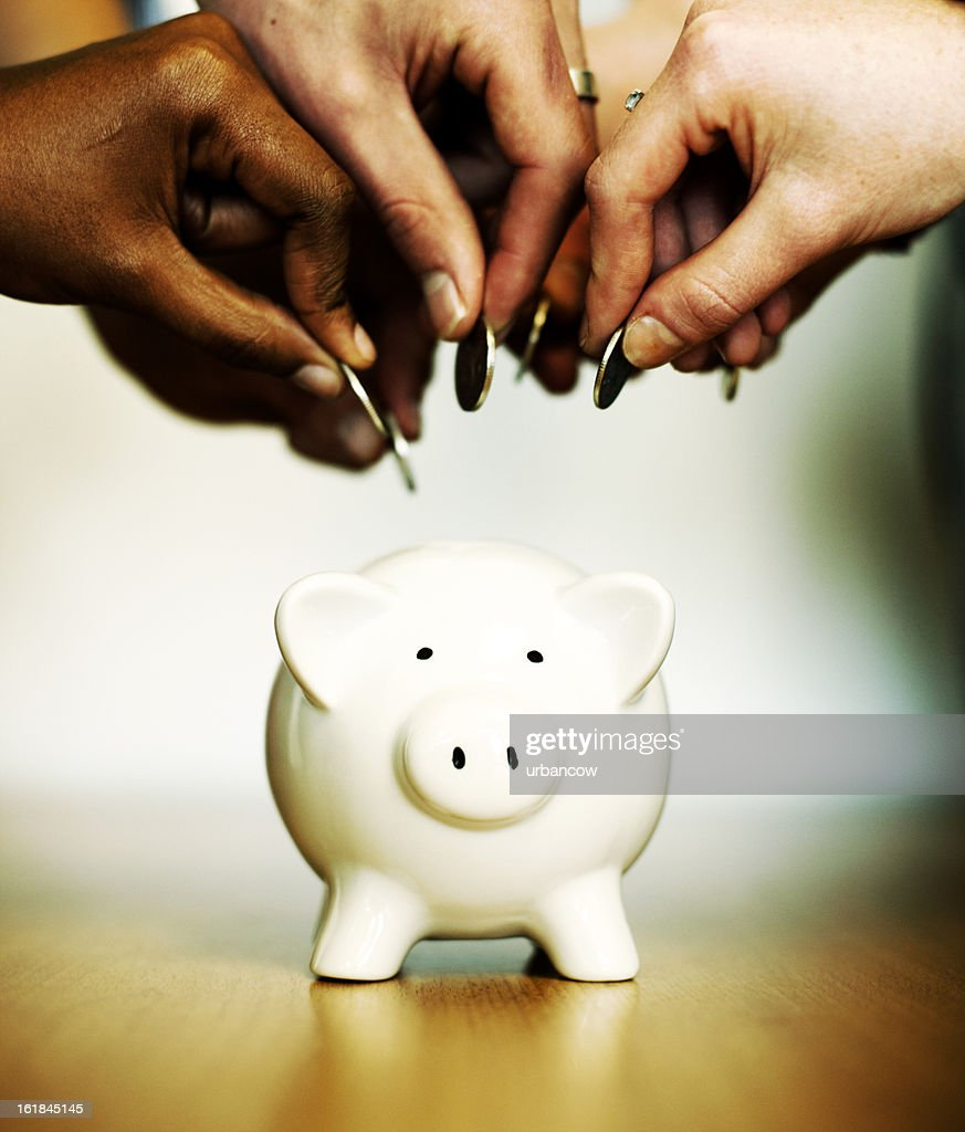Savings rush : Stock Photo