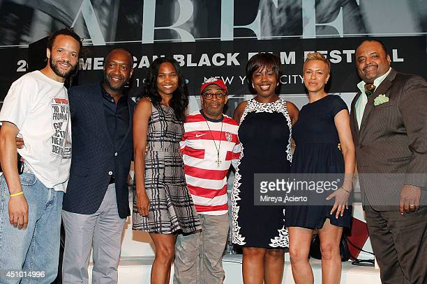 Savion Glover Jeff Friday Nicole Friday Spike Lee Jocelyn K Allen Tonya Lewis Lee and Roland Martin attend the 'Spike LeeYa Dig' career retrospective...