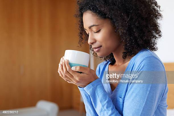 Genießen Sie Ihren morgendlichen Kaffee