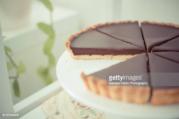 Savory Chocolate Tart