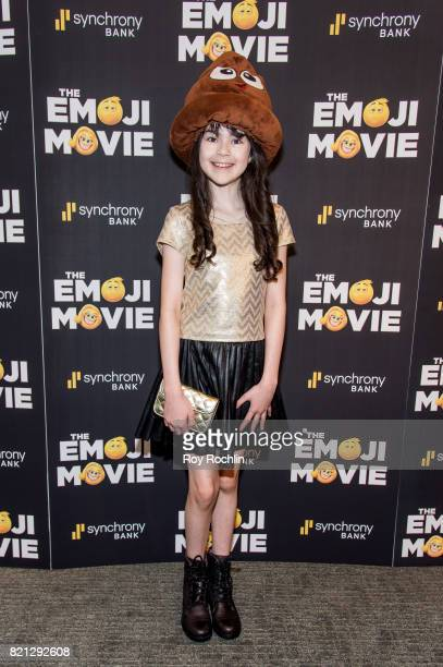Savvy Crawford attends 'The Emoji Movie' special screening at NYIT Auditorium on Broadway on July 23 2017 in New York City