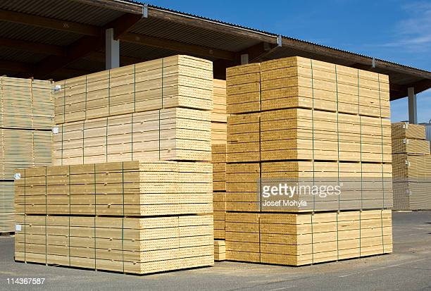 Saw mill - finished lumber.
