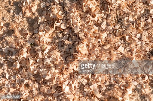 sawdust background : Stock Photo