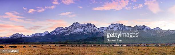 Sawtooth Mountain Range, Stanley, Idaho