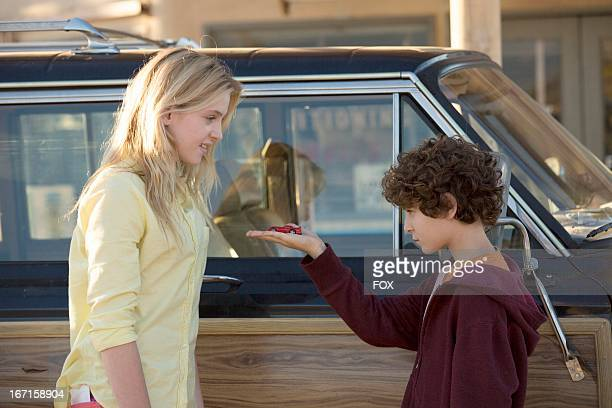 Saxon Sharbino and David Mazouz star in the 'Reunions' episode of TOUCH airing Friday March 22 2013 on FOX