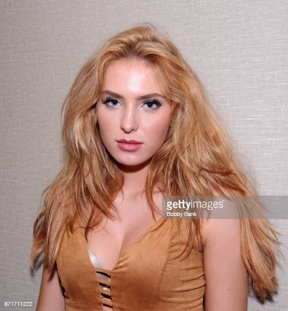 Saxon Sharbino attends Chiller Theatre Expo Spring 2017 at Hilton Parsippany on April 22 2017 in Parsippany New Jersey